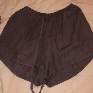 brown boutique shorts! slightly worn
